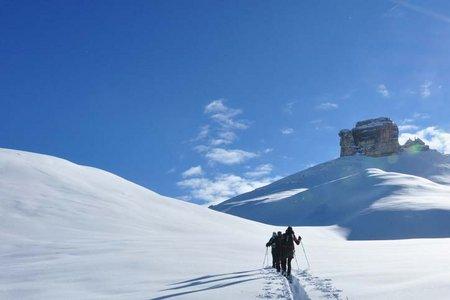 Monte Castello (2760 m) von der Faneshütte