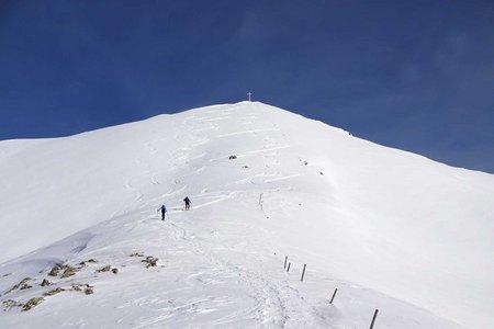 Putzenhöhe (2438 m) vom Parkplatz Gelenke