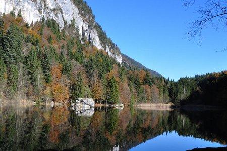 Leichter Lernen Weg zum Berglsteiner See