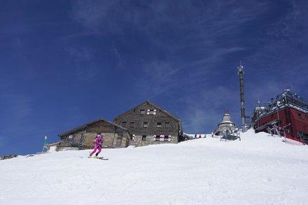 Hoher Sonnblick (3106m) von Kolm-Saigurn
