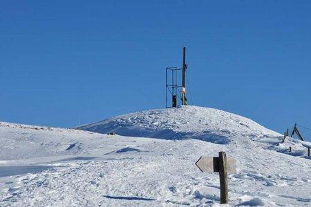 Toblacher Pfannhorn (2633 m) von Kandellen