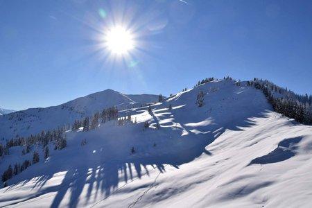 Skitourenlehrpfad Dienten auf das Grünköpfl