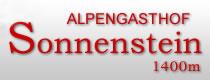 Logo Alpengasthof Sonnenstein - Stubaital