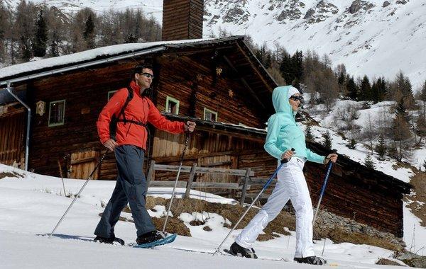 Schneeschuhwandern in den Lienzer Dolomiten