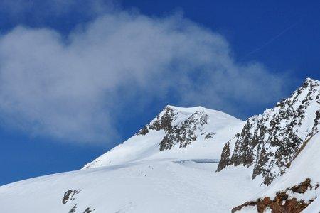 Weißkugel (3739 m) über das Quelljoch