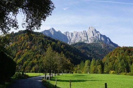 Kaiserbachtal von Kirchdorf in Tirol