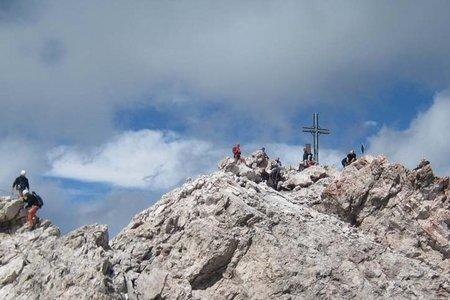 Sas Rigais (3025 m) von der Col Raiser Bahn