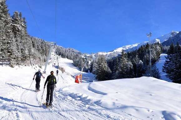 Pistentouren in Tirol