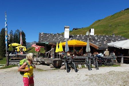 Jausenstation Kallbrunnalm & Kashüttn von Pürzlbach