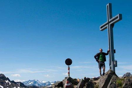 Gaiskogel (2820 m) von der Dortmunderhütte