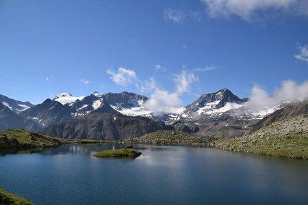 Mutterberger See (2483 m) von der Dresdner Hütte