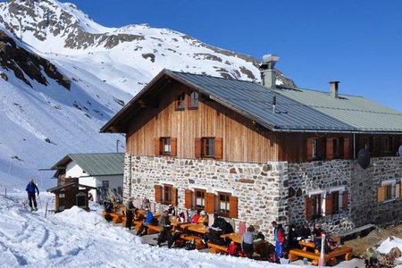 Pforzheimer Hütte (2308 m) von St. Sigmund