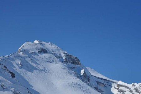 Stigaspitze (2787 m) von der Lavarellahütte