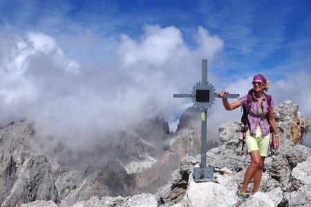 Piz Duleda (2909 m) von der Bergstation Col Raiser
