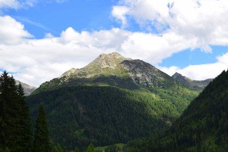 Seebergspitze (2430 m) vom Wanser Hof