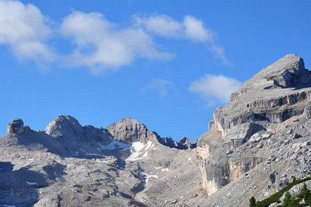 M. Cavallo - M. Casale (2840/2707 m) von der Lavarellahütte