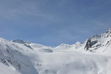 Daunkopf-Daunkogel Rundtour (3348/3225 m) vom Stubaier Gletscher