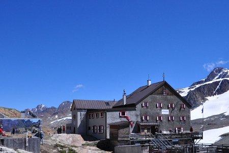 Schutzhütte Schöne Aussicht (2842 m) von Vent
