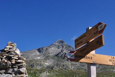 Rauchkofel (3251 m) vom Berghotel Kasern