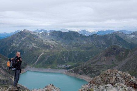 Finstertaler Schartenkogel (2855 m) von der Dortmunder Hütte