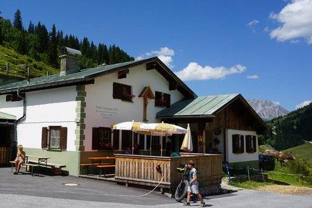 Tritsch-Alpe von St. Anton