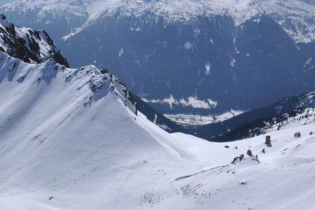 Kalbenjoch (2225 m) von Trins