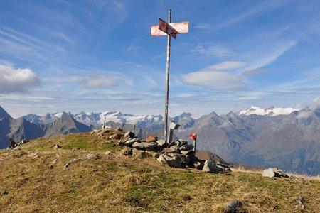 Donnerstein (2725 m) von der Speikbodenhütte