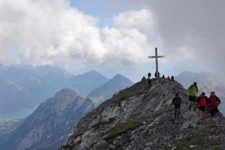 Sonnjoch (2457 m) von der Gramaialm