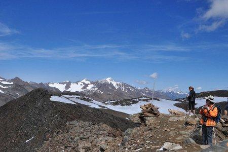 Hintereis Spitze (3269 m) von Kurzras