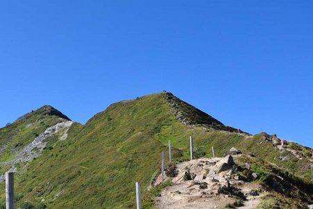 Wiedersberger Horn (2127 m) von der Wiedersbergerhornbahn