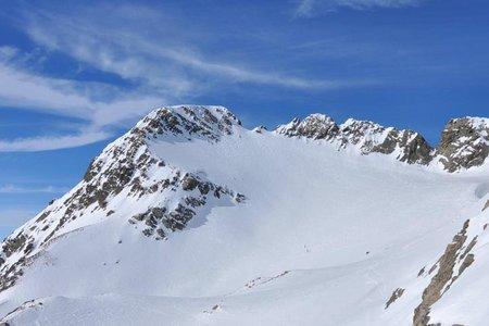 Winnebacher Weißkogel (3182 m) von der Winnebachseehütte