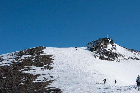 Grenzeckkopf (3047 m) von der Jamtalhütte
