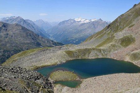 Seekarsee (2655 m) von der Fiegl's Hütte