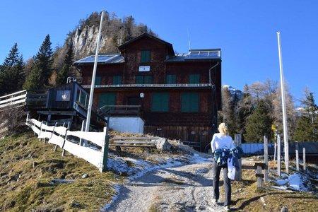 Bayreuther Hütte (1600 m) von Höllenstein