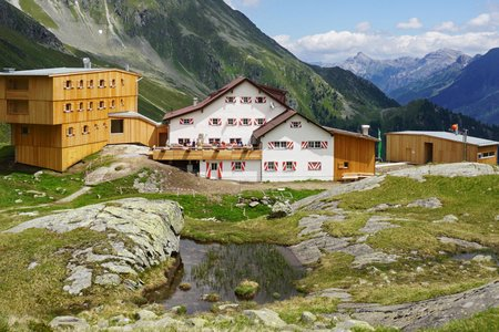 Neue Regensburger Hütte, 2286 m - Stubaital