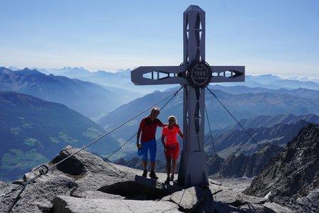 Westliche Floitenspitze (3195m) von der Kegelgasslalm
