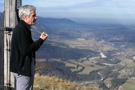 Hochalm-Hochalmgipfel (1428 m) vom Sylvensteinsee