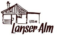 Logo Lanser Alm, 1735 m - Lans