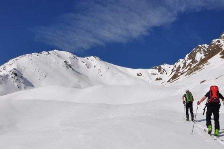 Plattspitz (2672 m) von der Fanealm