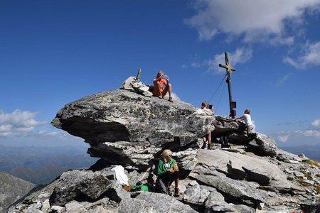 Großer Hafner (3076 m) vom Kölnbreinspeicher