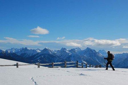 Campillberg (2000 m) Rundwanderung Hörschwanger Kreuz