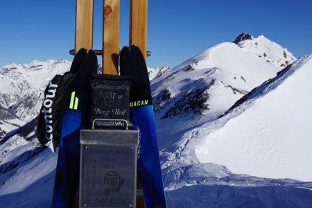 Gammerspitze (2537 m) von Außerschmirn
