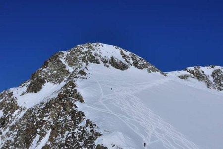 Ruderhofspitze-Südanstieg (3473 m) von der Mutterbergalm