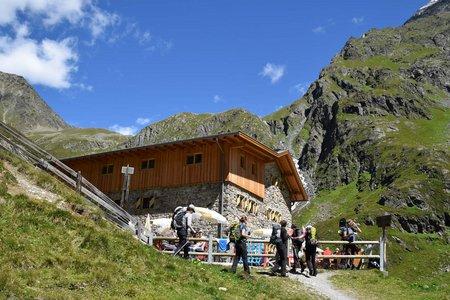 Amberger Hütte, 2135 m - Ötztal/Gries