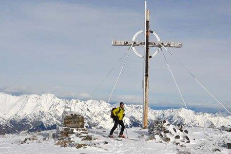 Glungezer-Sonnenspitze (2677/2639 m) von Tulfein