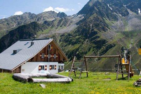 Potsdamer Hütte (2020 m) über die Almindalm