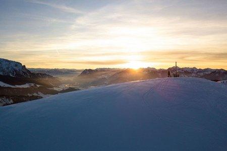 Skitour zum Sonnenuntergang im Kaiserwinkl!