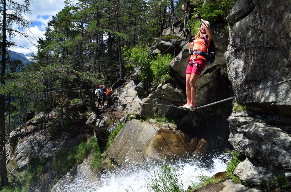 Klettersteig Oetztal : Imster klettersteig maldonkopf aktivsport alpin