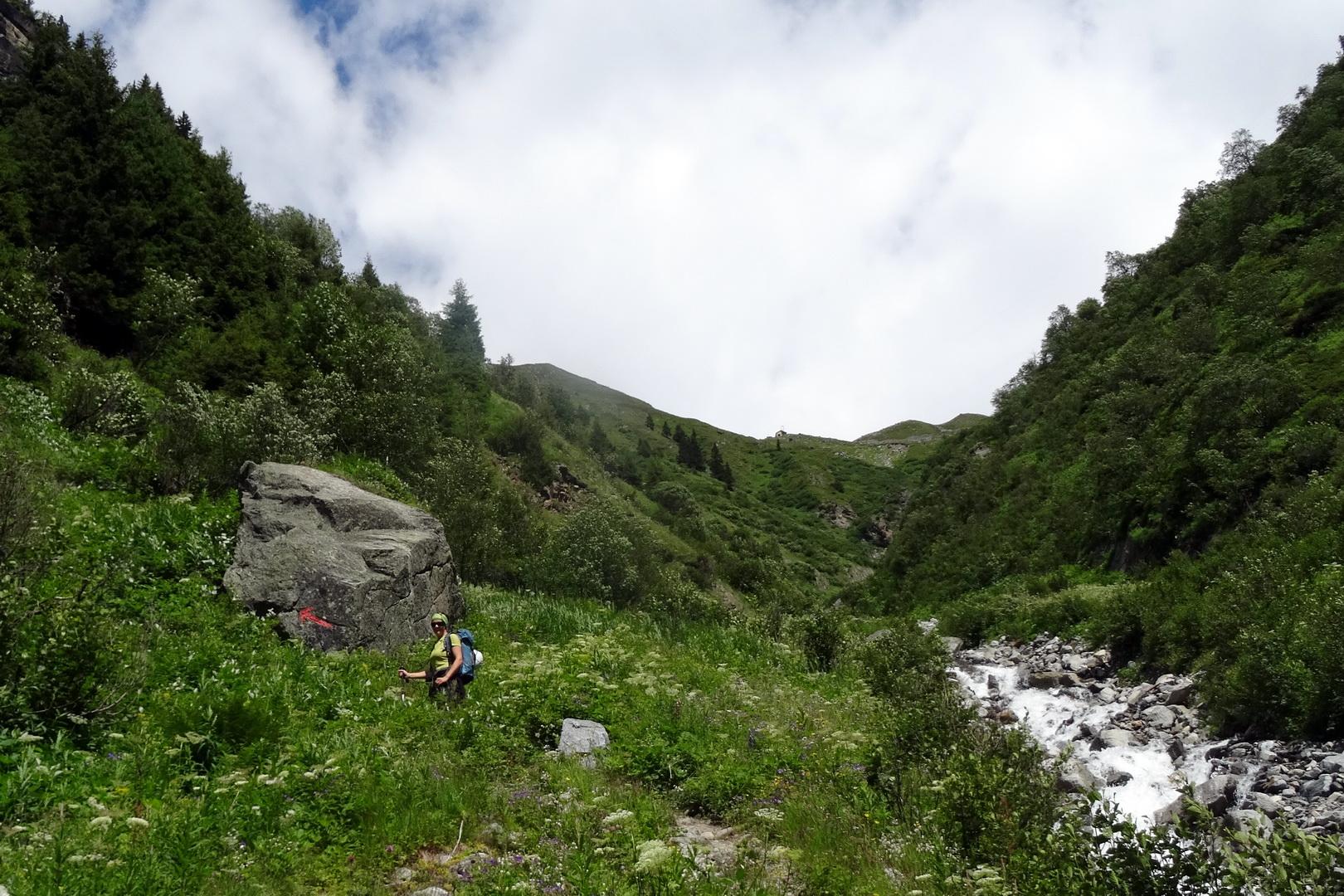 Klettersteig Tirol : Einfacher klettersteig kleinbärenzinne im pitztal tirol