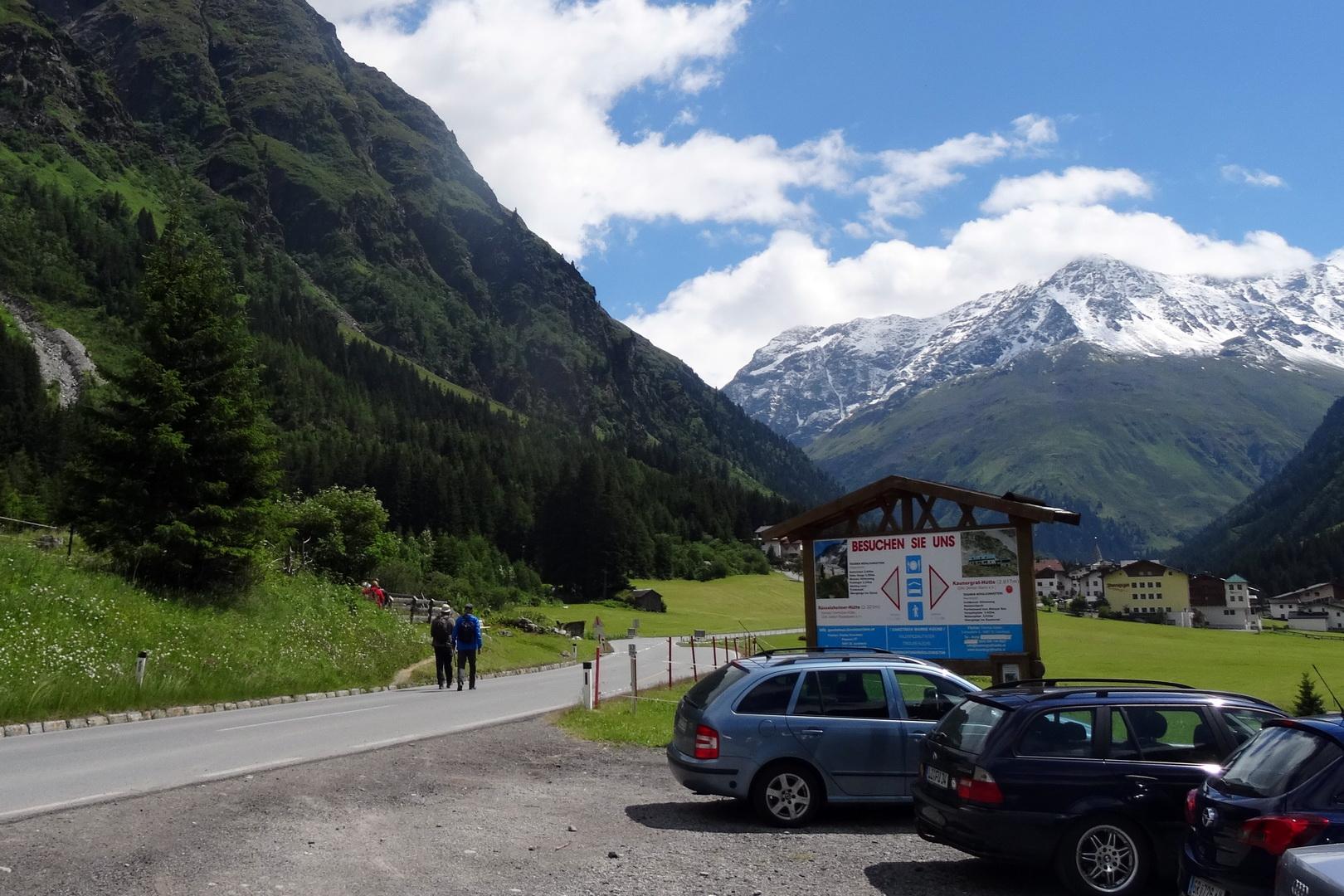 Klettersteig Pitztal : Einfacher klettersteig kleinbärenzinne im pitztal tirol